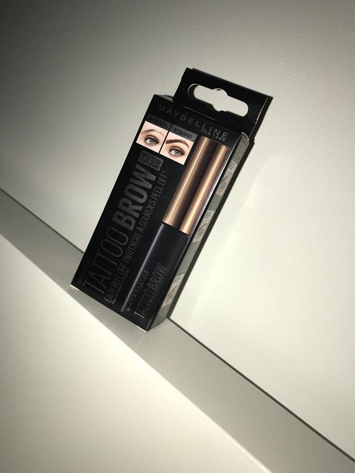 Maybelline Tattoo Brow… Does It Work?