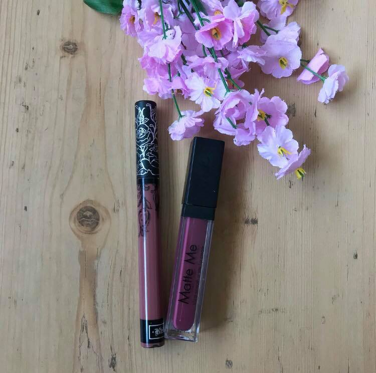 Kat Von D Lolita Vs. Sleek Velvet Slipper… Is It A Good Dupe?