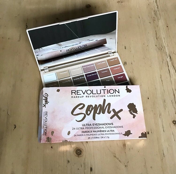 GRWM – Using Soph X Revolution EyeshadowPalette